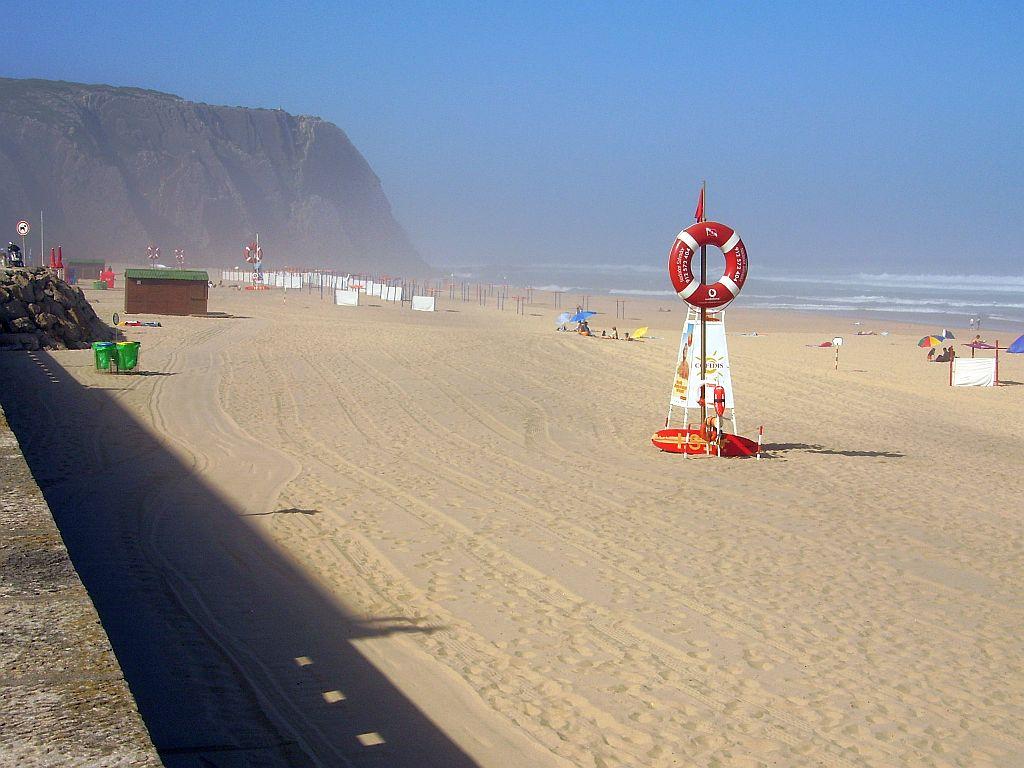 praia grande beach portugal